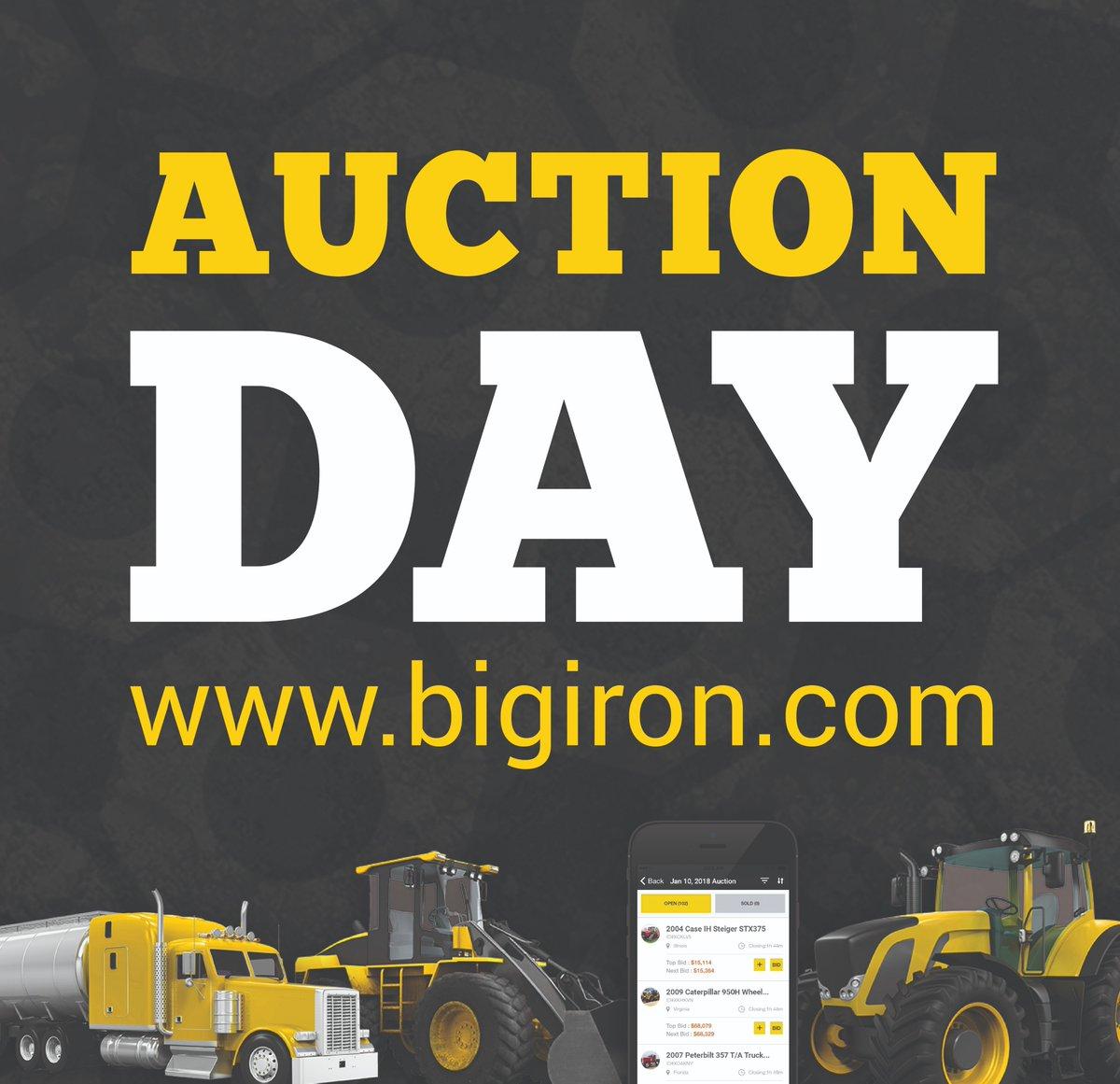 BigIron Auctions on Twitter: