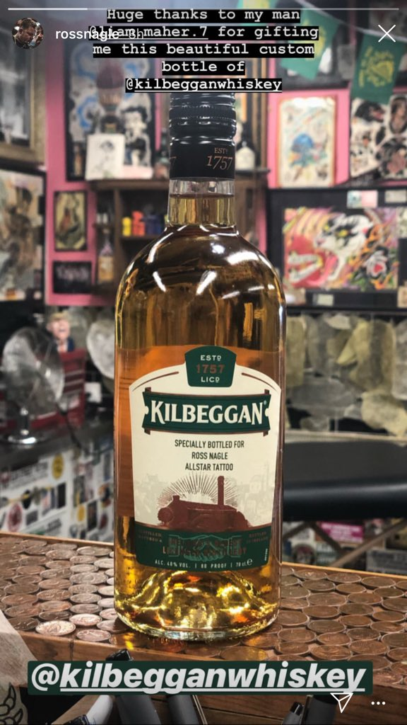 Thank you to @Kilbeggan for the help today with the bottle for @ross_nagle https://t.co/LEvo8FHHoV