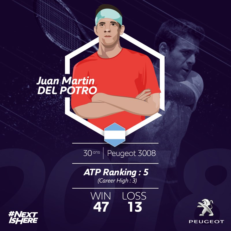Strong and focused like @delpotrojuan. #NEXTisHERE