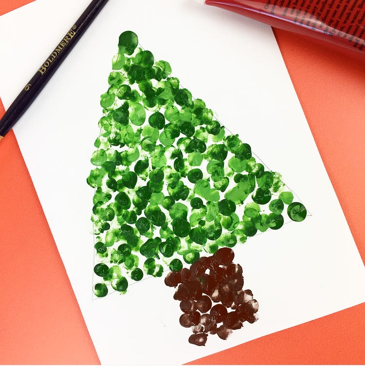 Christmas Holiday Art Projects