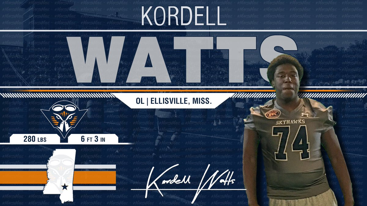 O-Line Room is Loading Up with Beasts!!! @kordellw75 Comes off the Ball and Plays with Violence!! He is a Skyhawk! 🔷🔶🏈🔥 #NSD19