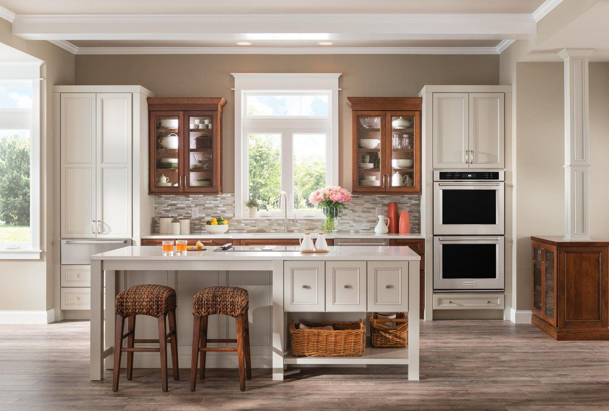 Yorktowne Cabinetry On Twitter This Design Combines