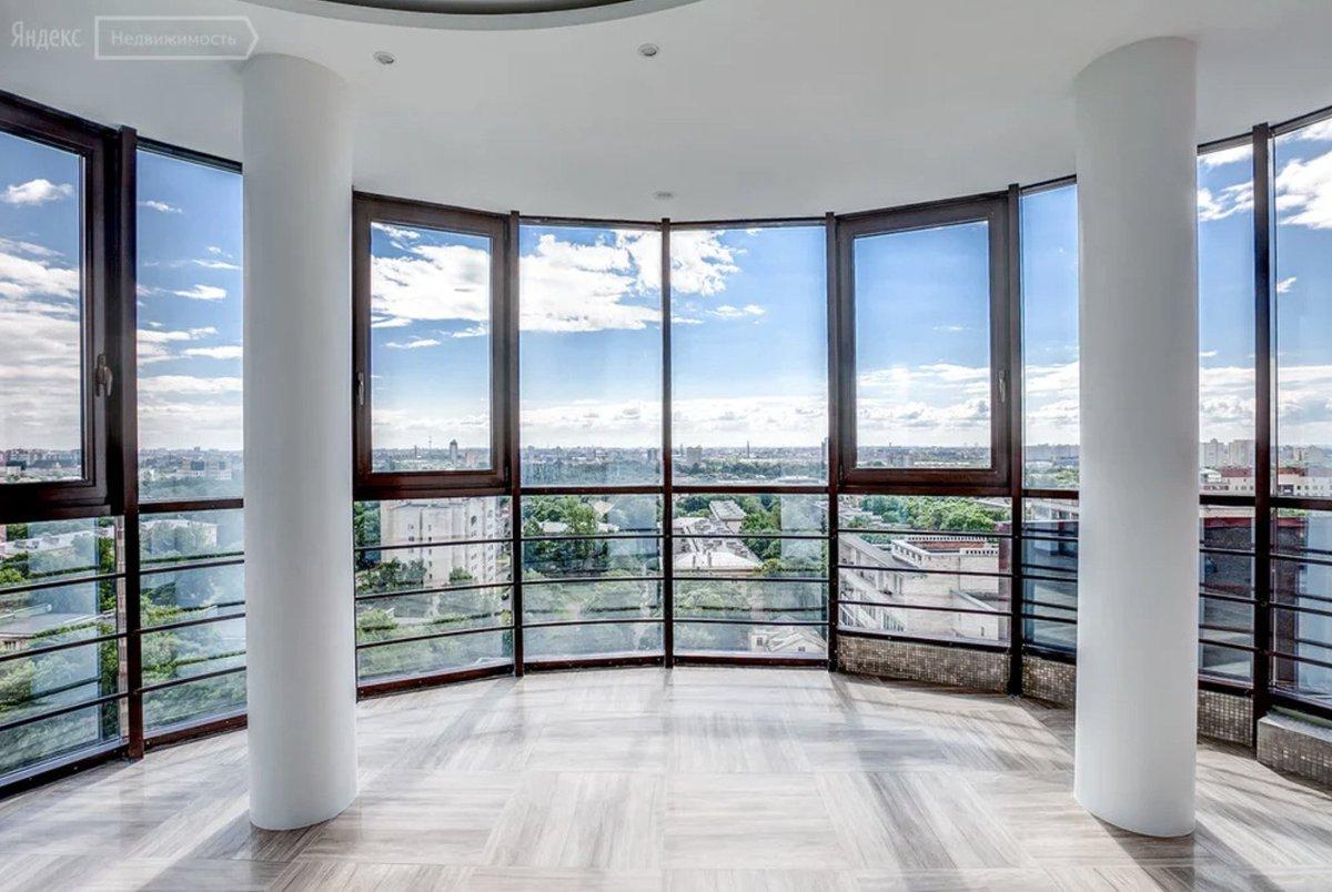 Квартиры с панорамными окнами в москве фото