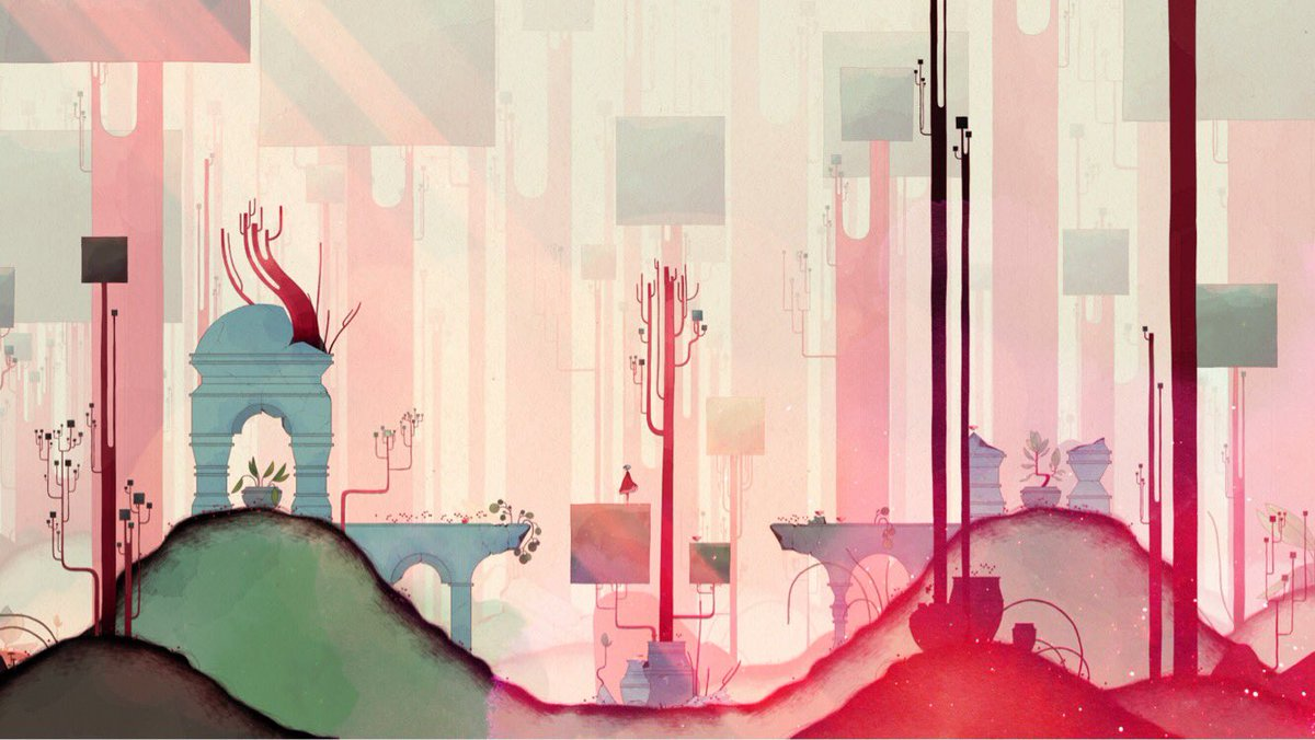 "Nomada Studio - G R I S on Twitter: ""These are some of our favorite screenshots from GRIS. What are yours? We are curious😌… """