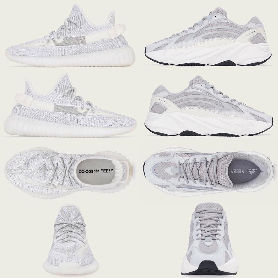 "YEEZY BOOST ""STATIC"" 左の350V2は12月27日、右の700は12月29日リリース予定です。 #YEEZY #YEEZYBOOST #YEEZYboost350v2 #YEEZYboost700 #kanyewest #adidas #kicks #sneakers #street #streetfashion #streetwear #streetstyle #足元倶楽部 #足元くら部 #adidas #アディダス"