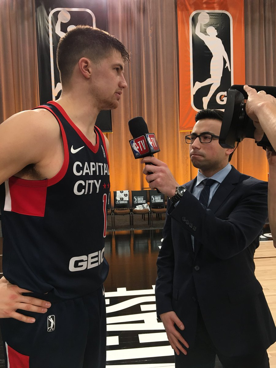 "NBA G League on Twitter: ""Kellen Dunham (@KellenDunham24) chatted with @NBATV after a 14-point first half performance with the @CapitalCityGoGo! Dunham hit all 4 of his 3-point attempts in the 1st half"