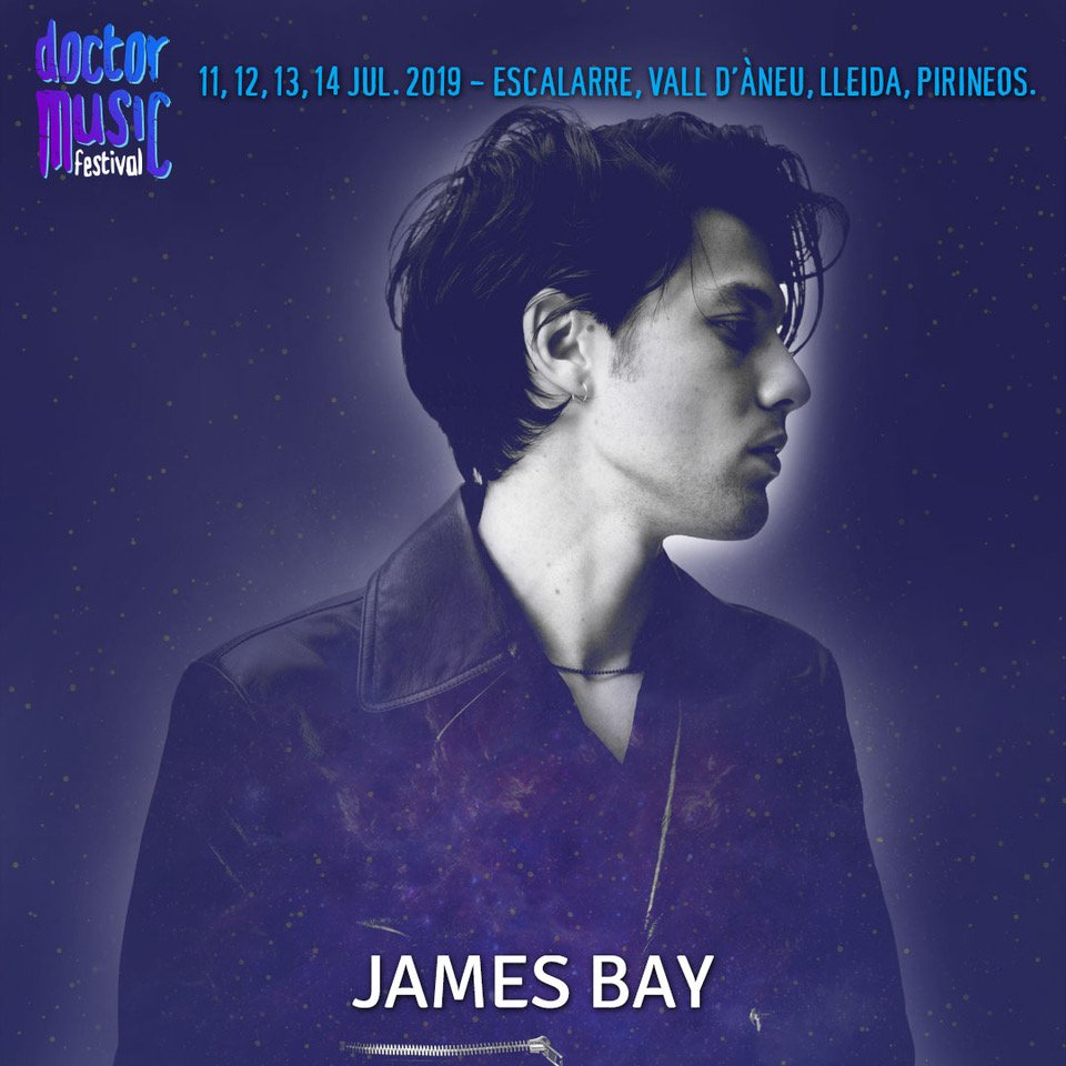Spain 🇪🇸 see you at @DoctorMusicFest in July x https://jamesbay.lnk.to/DoctorMusicFest
