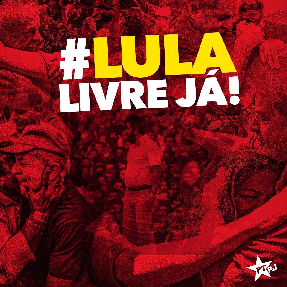 Benedita Da Silva S Tweet Lula Livre Hoje Lula Livre Ja