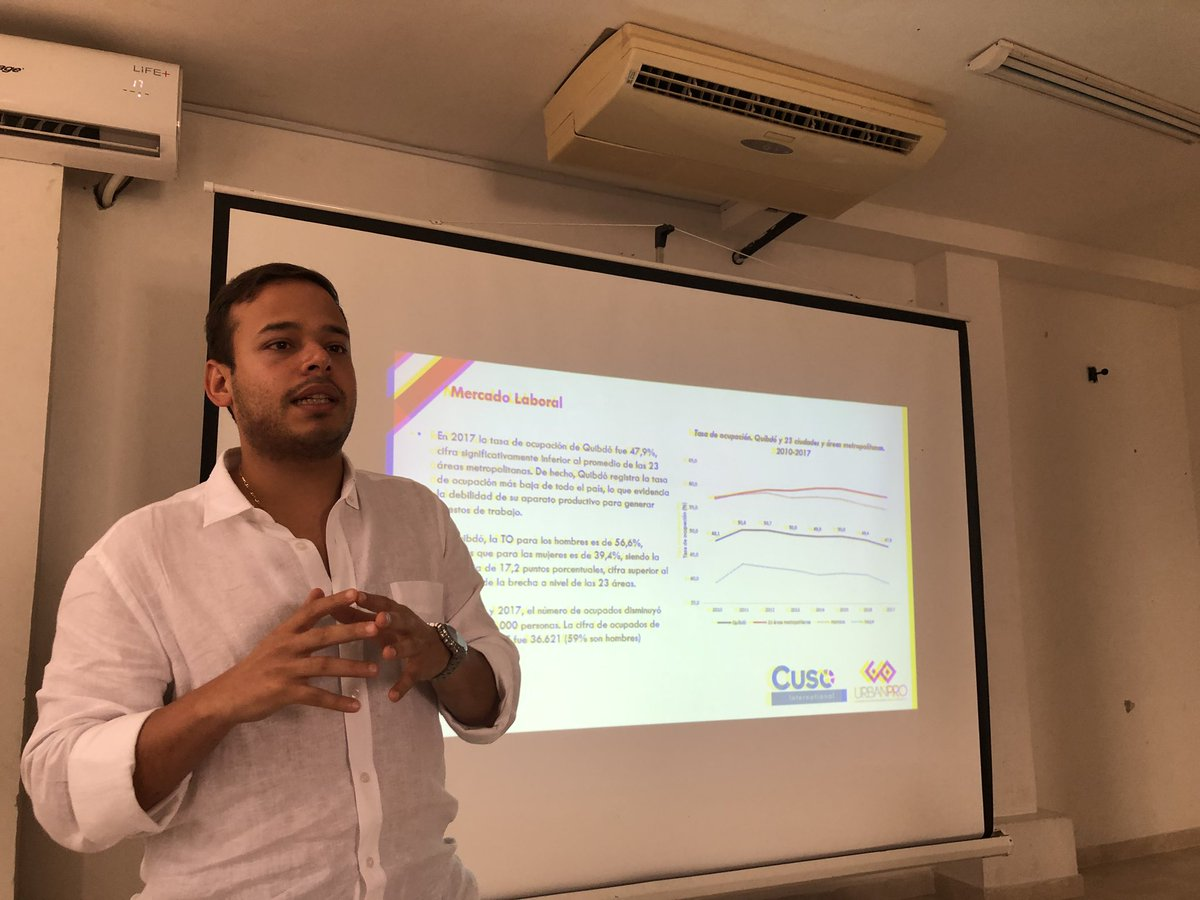 Continuación con la socialización del diagnóstico en el proceso de construcción de la política de desarrollo productivo de Quibdó