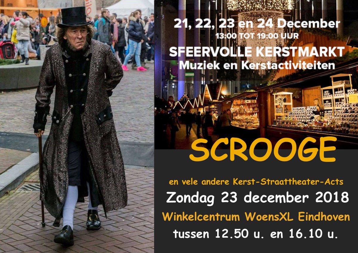 Wanneer speel je weer eens in de buurt, dan kom ik kijken. Nou, dat kan dus snel. Zondag 23 december 2018 speel ik #Scrooge in Winkelcentrum #WoensXL samen met vele andere leuke #Kerst-Straattheater-Acts (met dank aan https://t.co/9Uk0U8p2s9) Zie ik je daar?