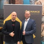Image for the Tweet beginning: Met with Binance. Discussed about