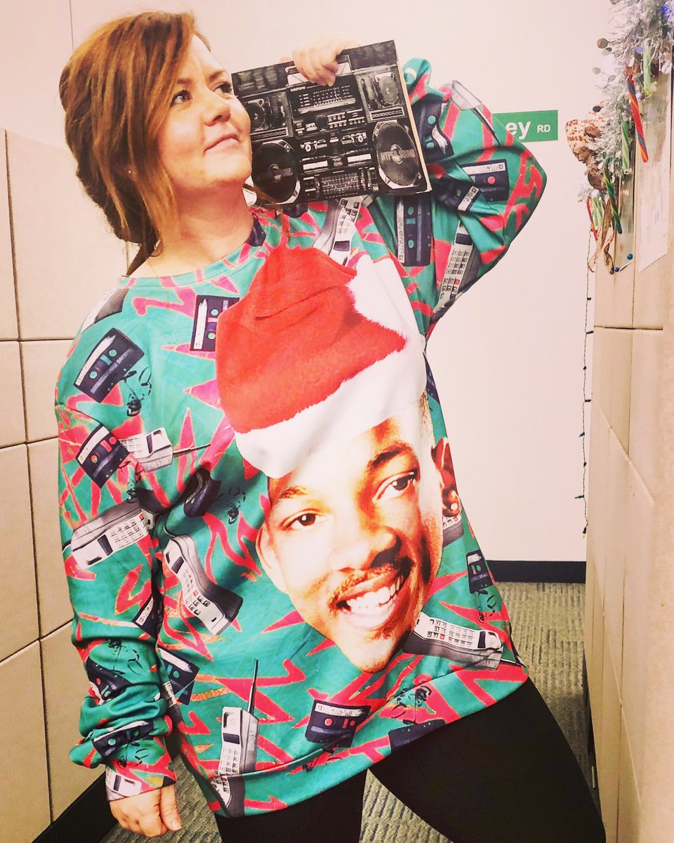 Will Smith Christmas Sweater.Ashton On Twitter When You Ve Got To Look Fresh For The