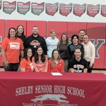Image for the Tweet beginning: Shelby's CC Gurney commits to
