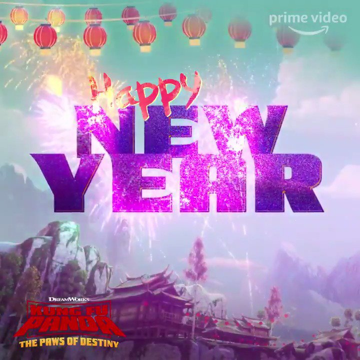 Happy New Year from your favorite #KungFuPanda master!