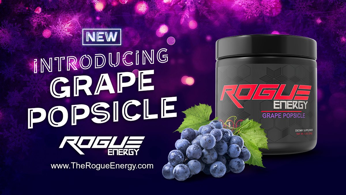 97c331963401 We just launched the 7th  RogueEnergy flavor! And this isn t a Preorder