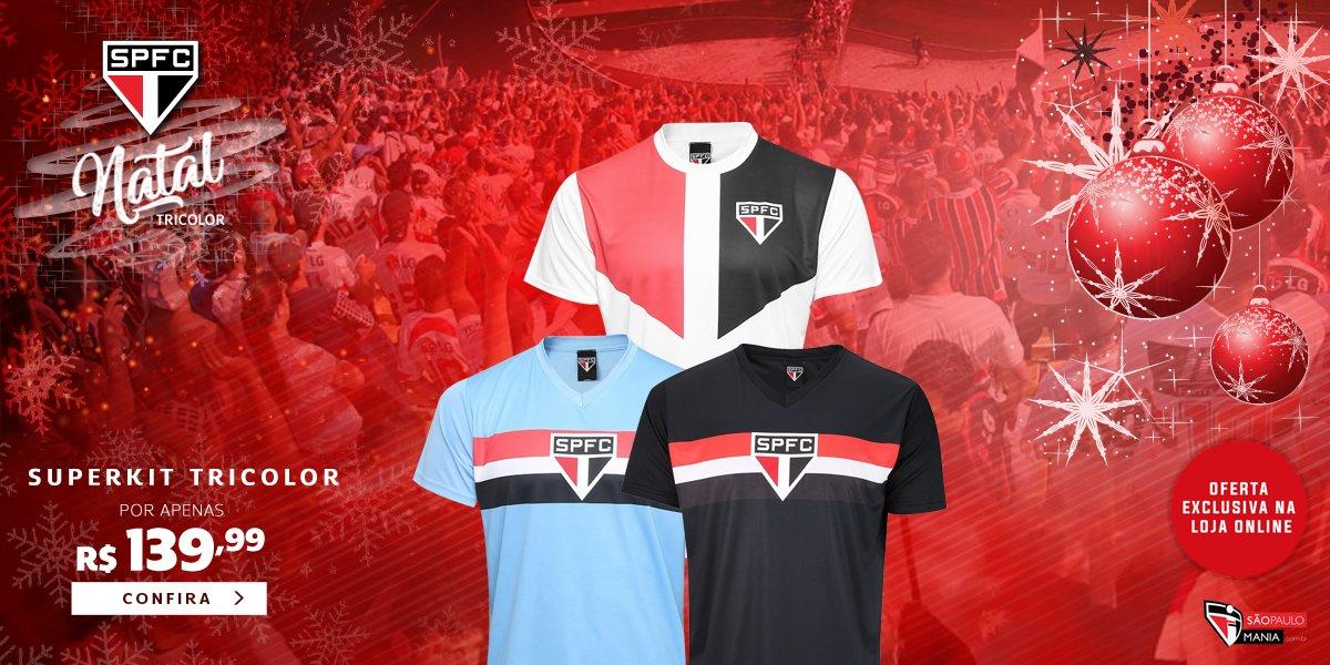30630c46f4a torcedor tricolor aproveite esta promocao especial leve o superkit com tres  camisas do sao paulo por