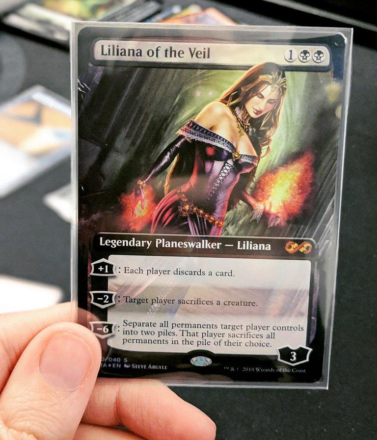 liliana of the veil box topper