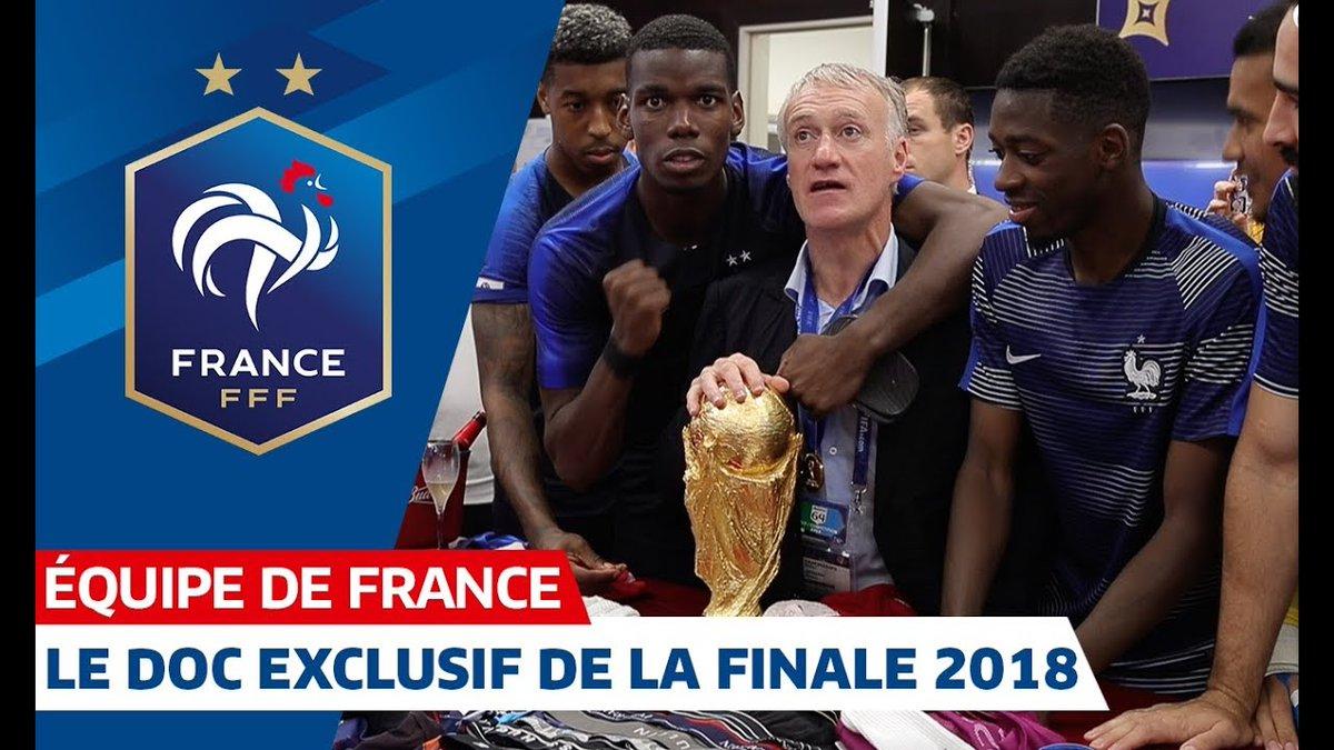 Il nous reste des images de la Finale de la Coupe du Monde 2018 encore jamais diffusées jusqu'à aujourd'hui...👀   RDV sur notre chaîne YouTube pour visionner les 23 minutes des coulisses de cette journée légendaire➡ https://youtu.be/f26gGzv0-Qs ⭐⭐ #FiersdetreBleus