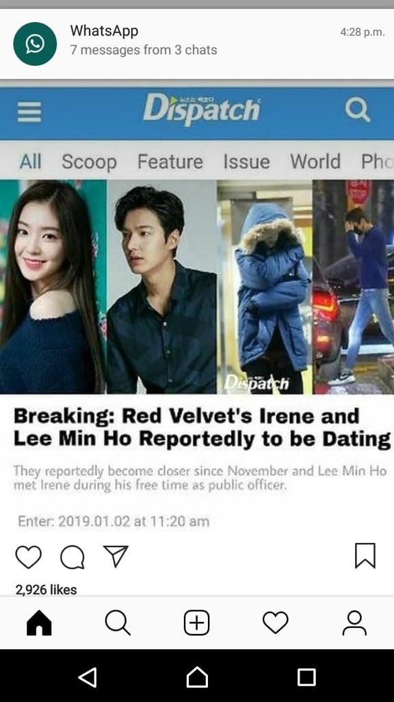 Li Min Ho dating