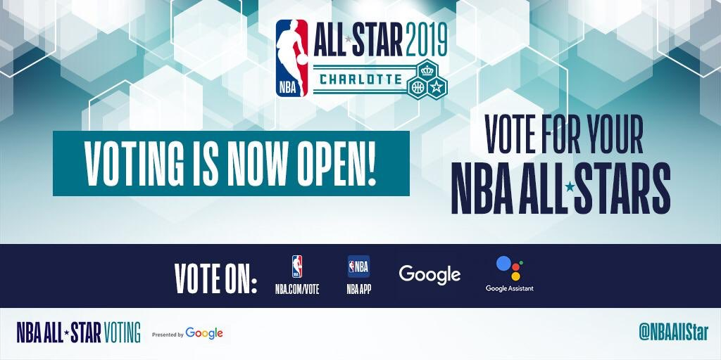 ccc717317adb91 The Buzz is back in Charlotte! Vote now for your favorite players to see  them in action in the 2019 NBA All-Star game! Fill your ballots up here  ...