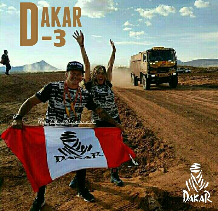#Dakar2019 2019 is getting close !! It's Only 3 Days to go ..  Dakar Rally 100% Perú. 100% Dakar. #Dakar #DakarRally #DakarHeroes #rallyraid #RoadToDakar #RallyDakar #Peru #Coachella @dakar @PeruRally<br>http://pic.twitter.com/KjDOqs0XEX