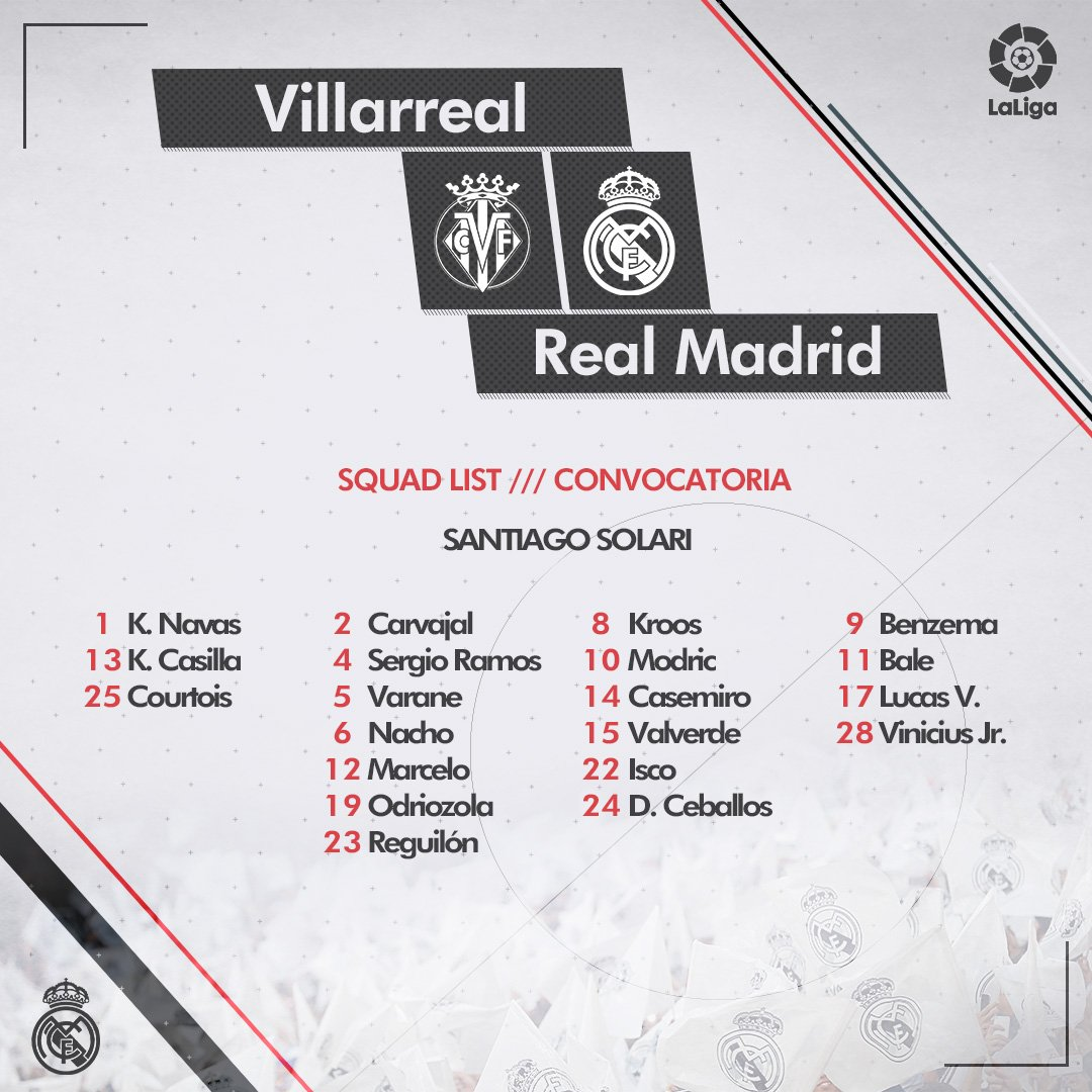 Dv-aWl1WsAAaQXv Solari convoca a 20 jugadores para viajar a Villarreal - Comunio-Biwenger