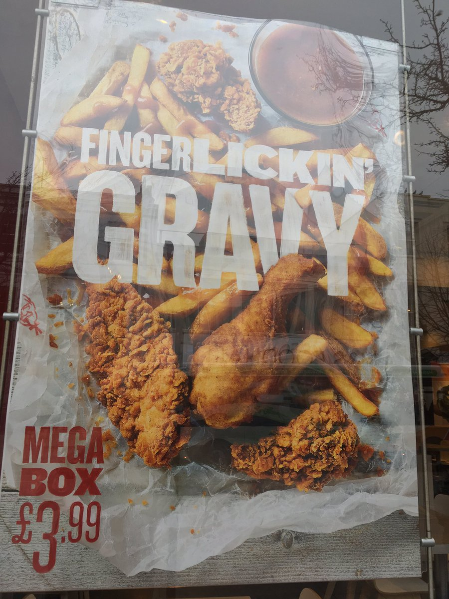 Burger Lad On Twitter Sorry We Re Not Doing The Gravy Mega Box Anymore Pretty Certain Every Component Above Is On The Standard Menu