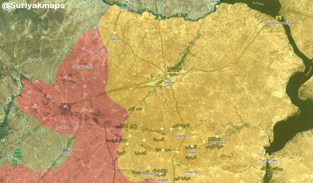 قوات سوريا الديمقراطيه ( قسد ) .......نظرة عسكريه .......ومستقبليه  - صفحة 5 Dv0edlzX0AAV4Zs