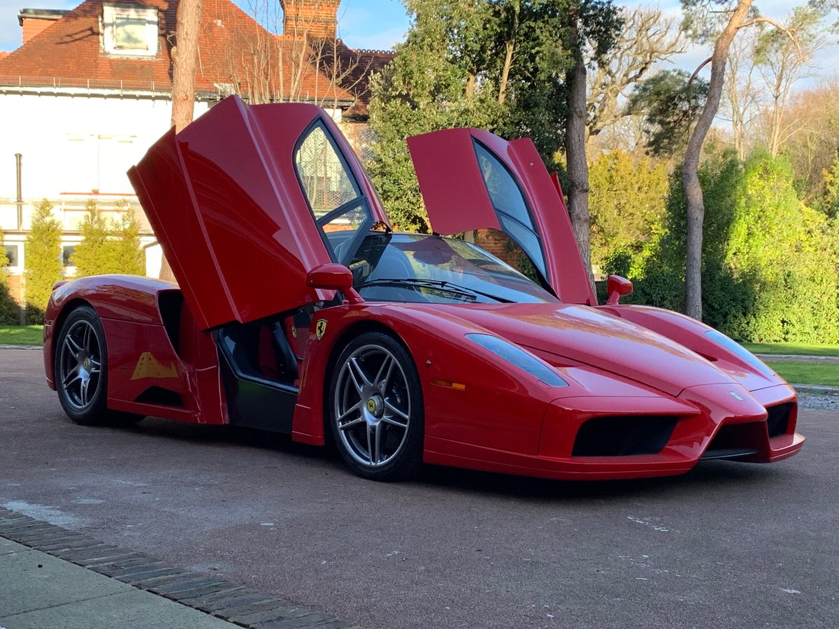 Chris Green On Twitter Brooklands Bound Ferrari Enzo