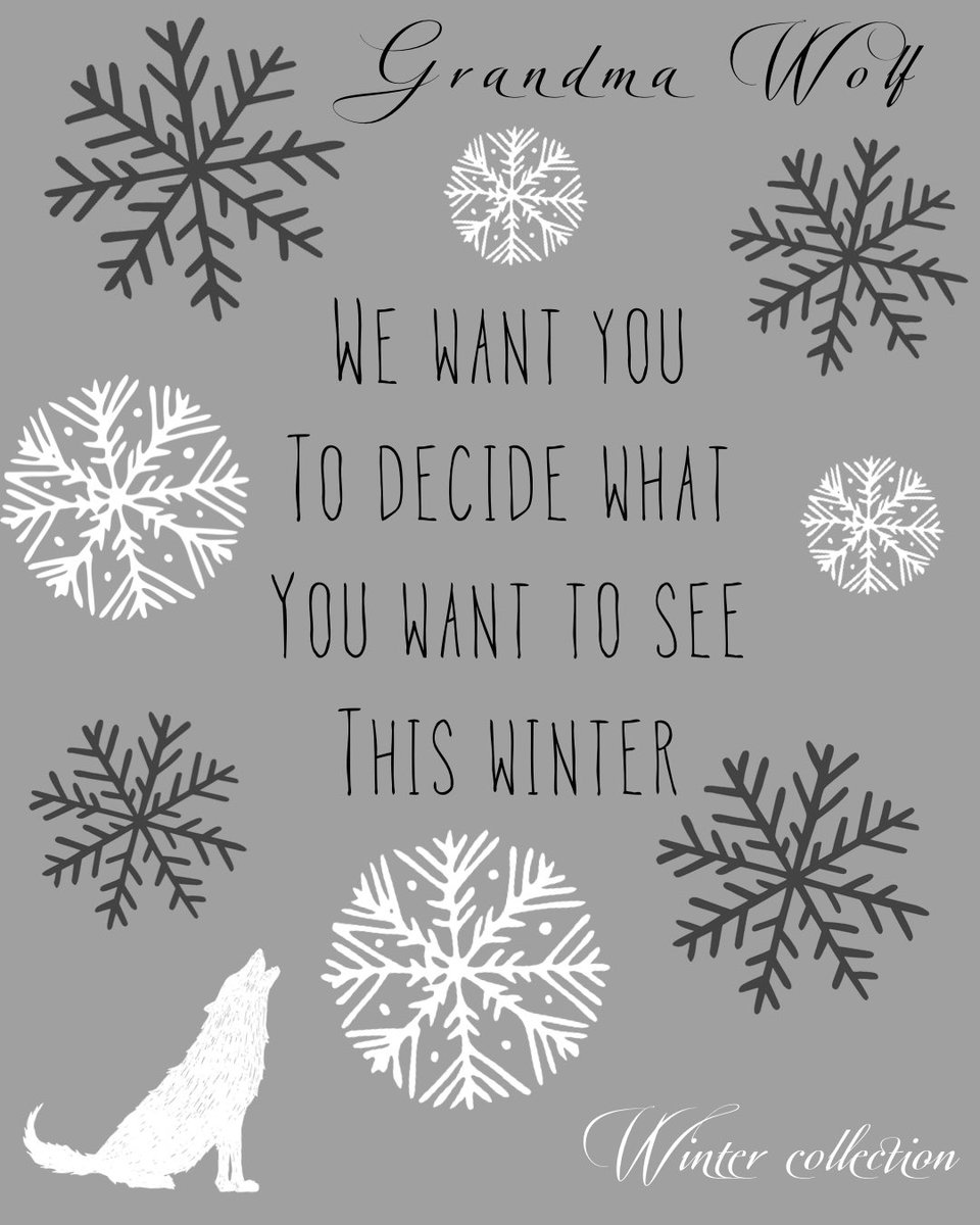 🐺HNY from GW🐺This winter we want YOU to decide what you want to see from us. Head over to our Instagram or comment your ideas below! The idea with the most votes will be printed this winter collection!