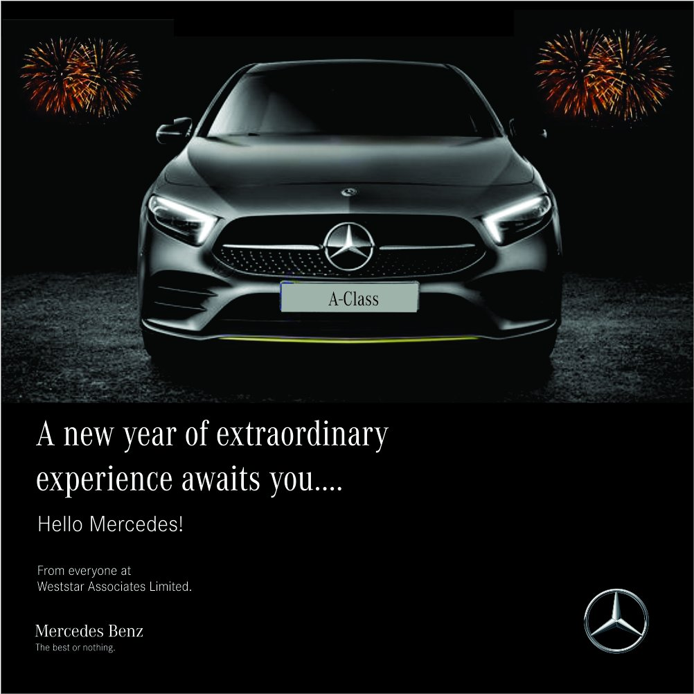 Mercedes Benz Ng On Twitter Welcome To 2019 We Are Wishing You A