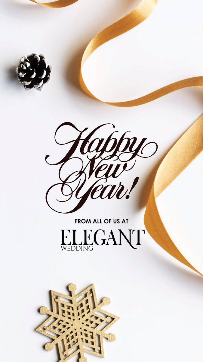 Elegant Wedding On Twitter Happy New Year May All