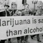 Image for the Tweet beginning: Marijuana is safer than alcohol! #allbud