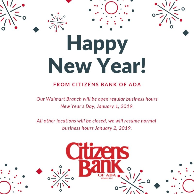 Citizens Bank Of Ada Citizensada Twitter