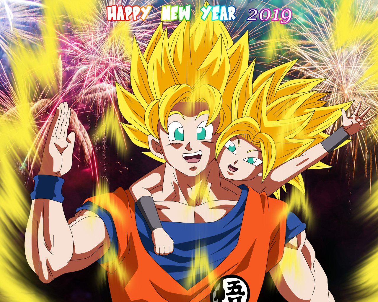 Super Caulifla On Twitter Happy New Year