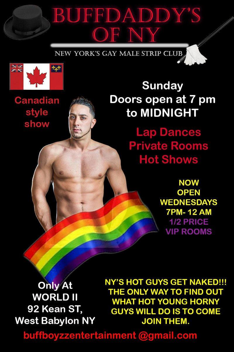 Muscle gay studs dancing on gay stripper party
