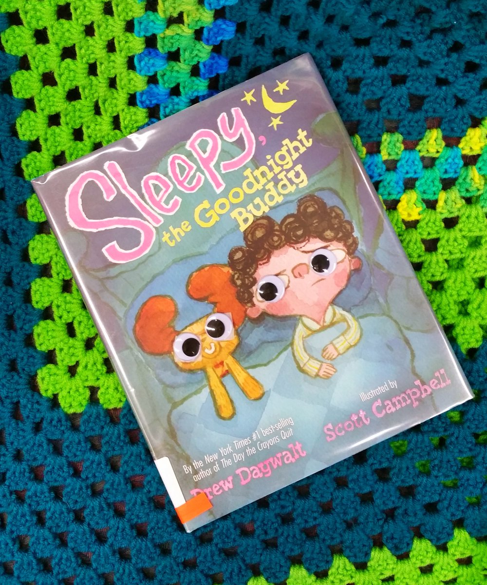 This hilarious #kidsbook is about a child who regularly refused to go to sleep. One day he receives a talkative stuffed animal, and the tables are turned! #googlytuesday #sleepythegoodnightbuddy #drewdaywalt #scottcampbell #picturebooks #funnybooks #googlyeyes https://t.co/iDr5I7Tlpd