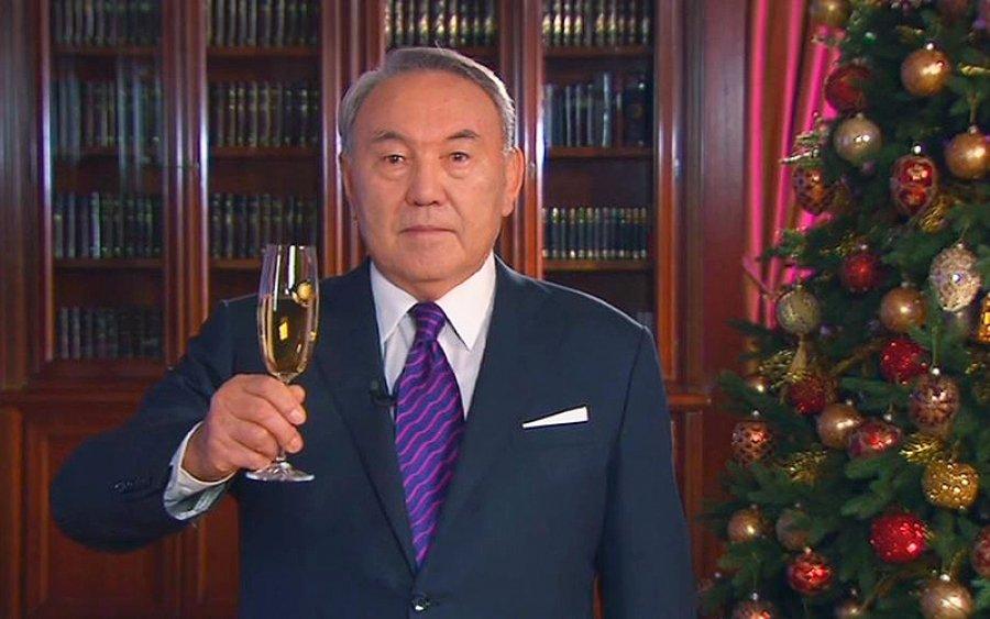 повторить поздравление назарбаева с новым годом моменты случаются