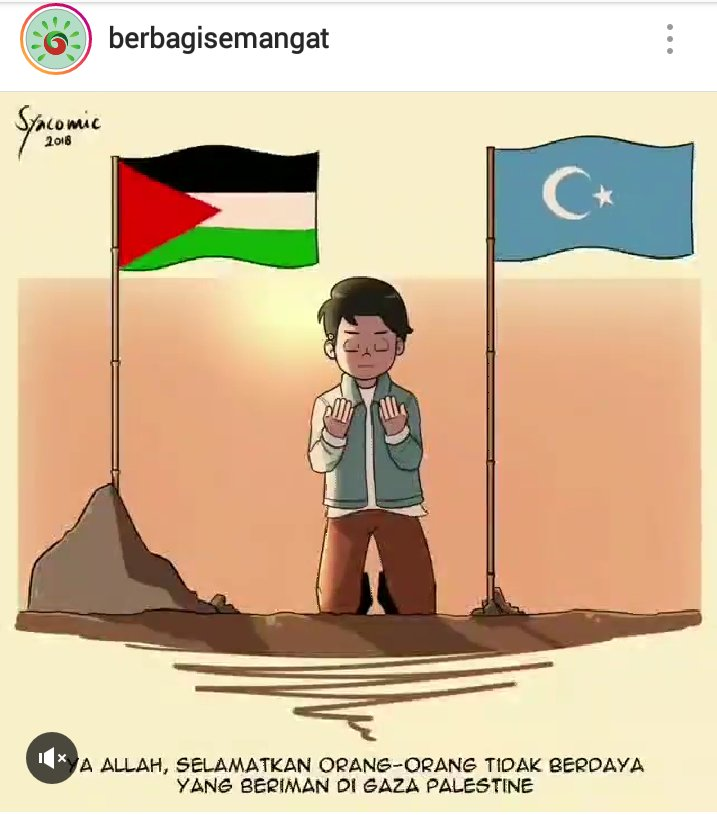 Bismillahirrahmanirrahim.. #PrayforPalestine #PrayforUyghur Aamiin... aamiin... aamiin... Ya ALLAH Ya Rahman Ya Rahim Ya Malikul Quddus 😢😭😭
