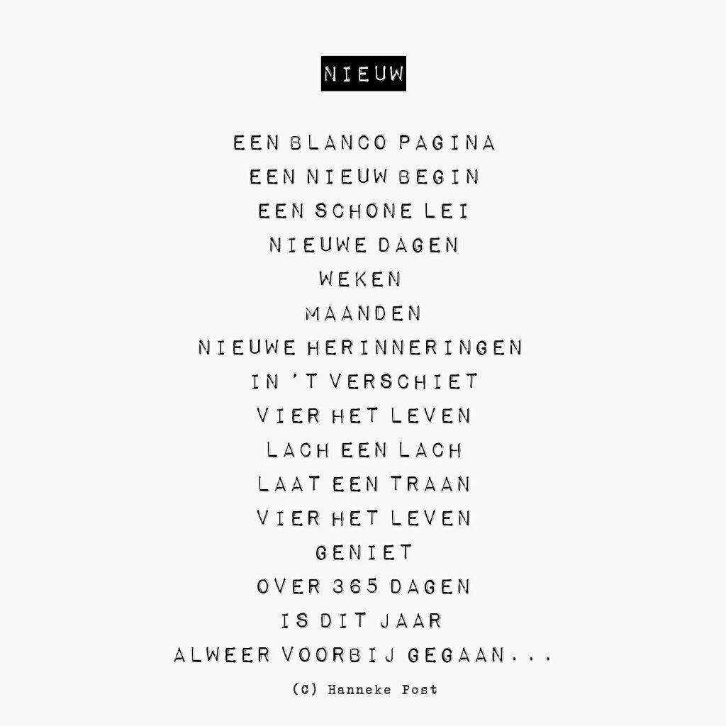 Post Id On Twitter Postid Gedicht Oud Nieuw