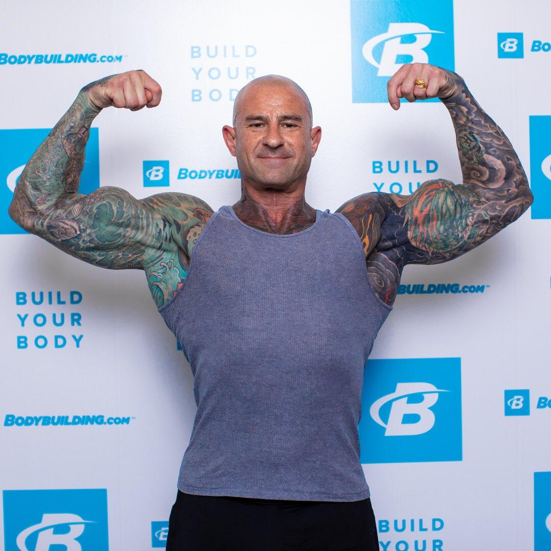 Bodybuilding com's tweet -