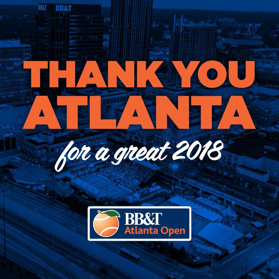 #HappyNewYear from the @BBT #AtlantaOpen team! 💥🍾