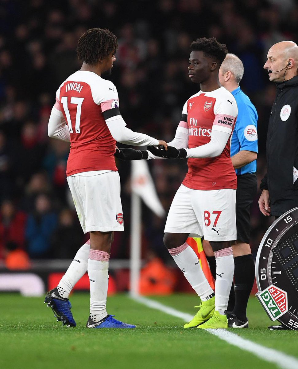 Proud moment for me and my family to make my @premierleague debut. Truly honoured and blessed. The hard work continues!💪🏿