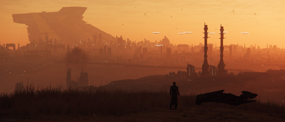 Corsair62 On Twitter Periphery Of Lorville Blade Runner