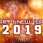 Image for the Tweet beginning: Happy new 2019 from the