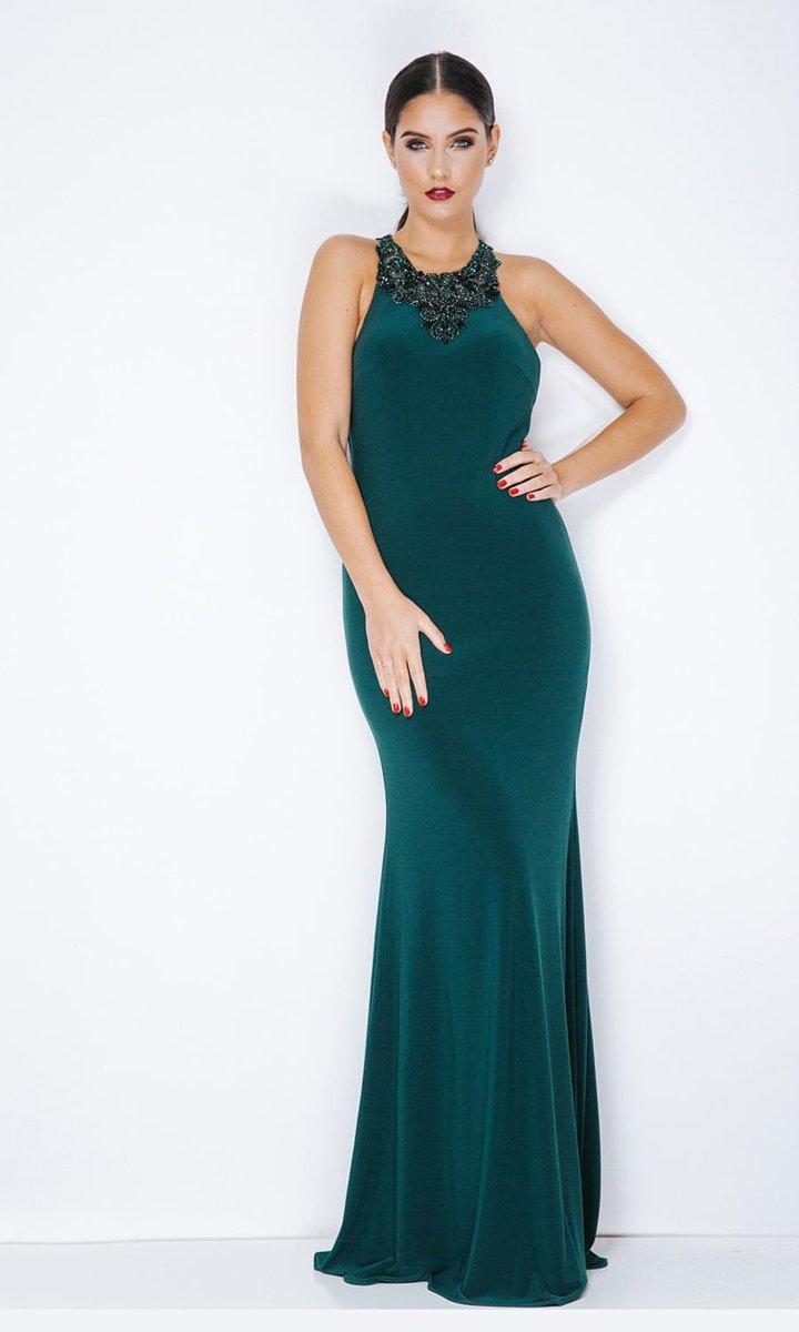 6fa62d744ca 1013307 Hunter Green - Dynasty London Evening Gown  eveningdress  lookfab   partydress http   bit.ly 2RuINOj pic.twitter.com 5Xe49lT2VJ