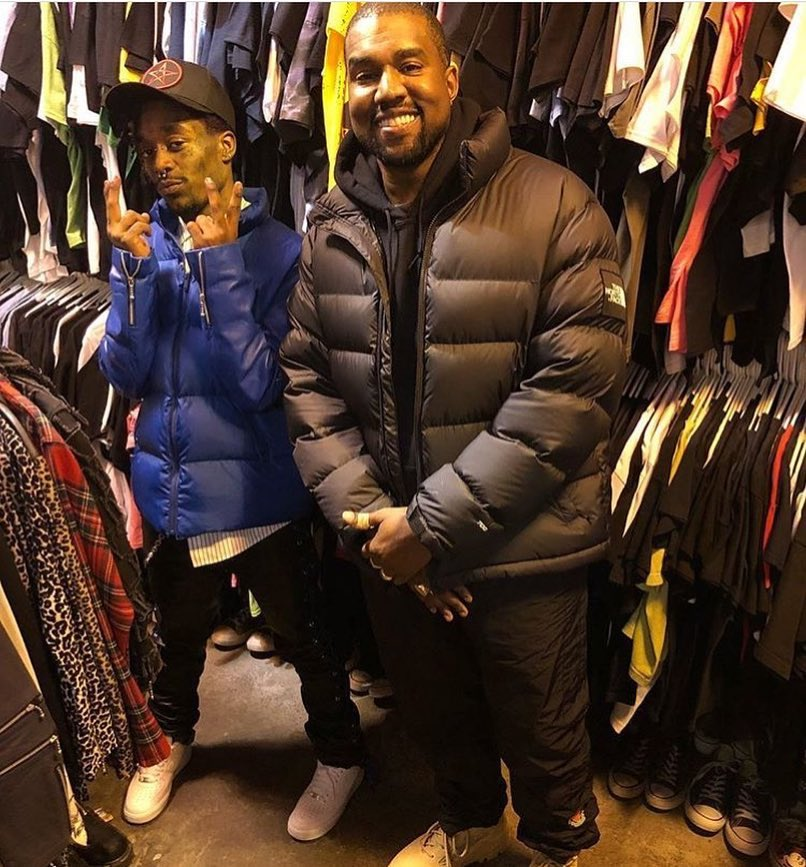 We need a collab Mr West...😌