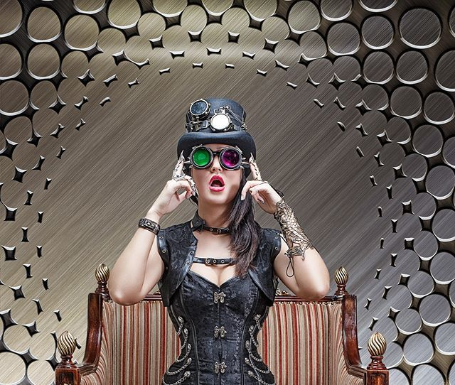 My Daily #Steampunk ⚙️ #Geek 🤓 #Space 🚀 #SamaCollection 🗞️ of Tweets with @exhimohaze @RustedLeafShop ⭐ Feat. @thecostumet View More 👉 https://t.co/iLWqTUIbYx