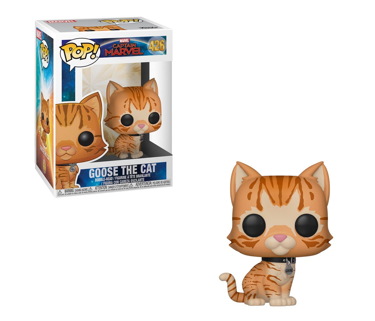 RT & follow @OriginalFunko for a chance to WIN a Goose the Cat Pop! #CaptainMarvel