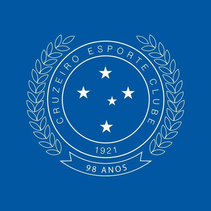 Avatar comemorativo de aniversário de 98 anos do Cruzeiro Esporte Clube
